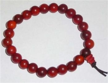 BRACELET - DRAGON BLOOD WOOD 8 MM