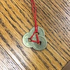 CHINESE FORTUNE COIN (RED CORD)
