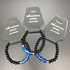 BRACELET CHAKRA INDIVIDUAL 5TH BLUE AGATE - THROAT