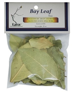 BAY LEAF WHOLE, PACKAGED BAGS 0.25 OZ