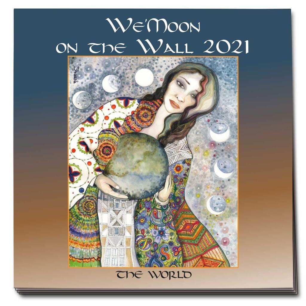 WE'MOON ON THE WALL 2021 CALENDAR