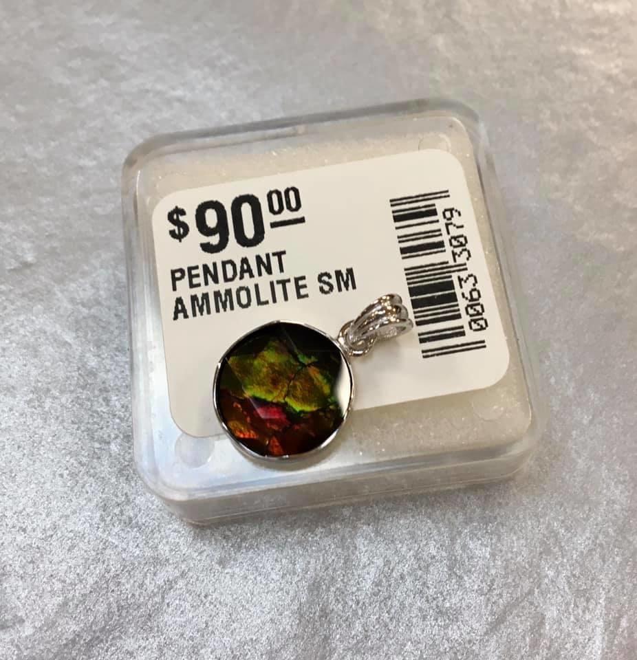 PENDANT AMMOLITE (small)