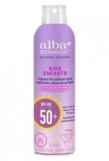 Alba Botanica Alba Botanica - Sunscreen, Kids Spray SPF50