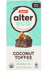 Alter Eco Alter Eco - Chocolate Bar, Dark Coconut Toffee