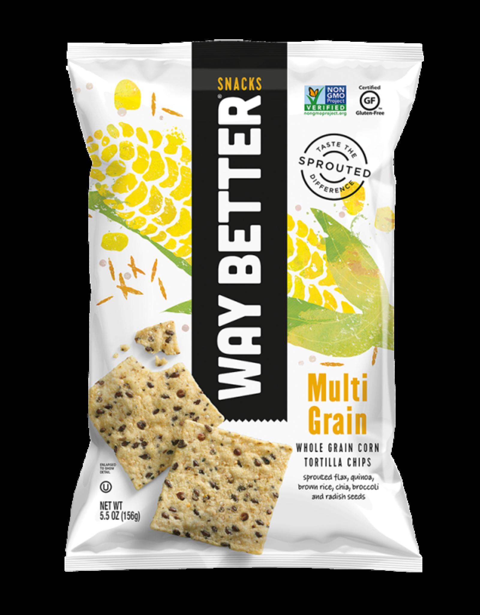 Way Better Way Better - Tortilla Chips, Multi Grain