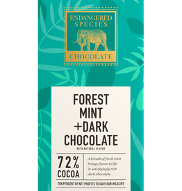 Endangered Species Endangered Species - Dark Chocolate Bar, Rain Forest Mint
