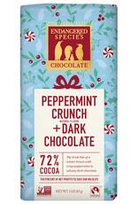 Endangered Species Endangered Species - Dark Chocolate Bar, Peppermint Crunch
