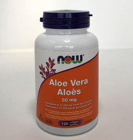 NOW Foods NOW Foods - Aloe Vera Concentrate 50 mg (120softgels)