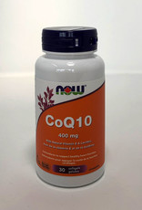 NOW Foods NOW Foods - CoQ10 400mg (30softgles)