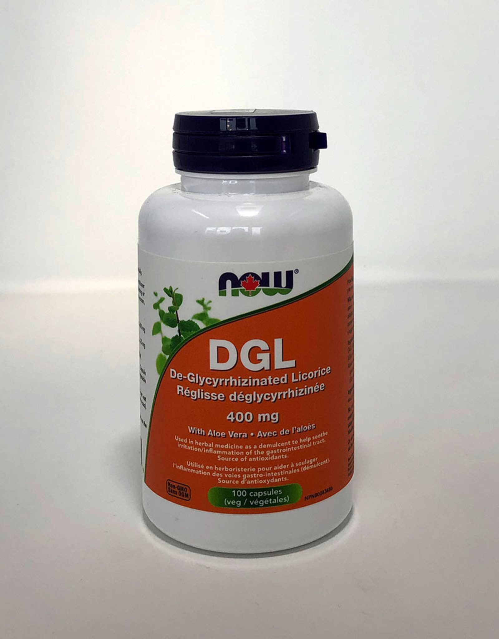 NOW Foods NOW Foods - DGL 400mg with Aloe (100vcaps)