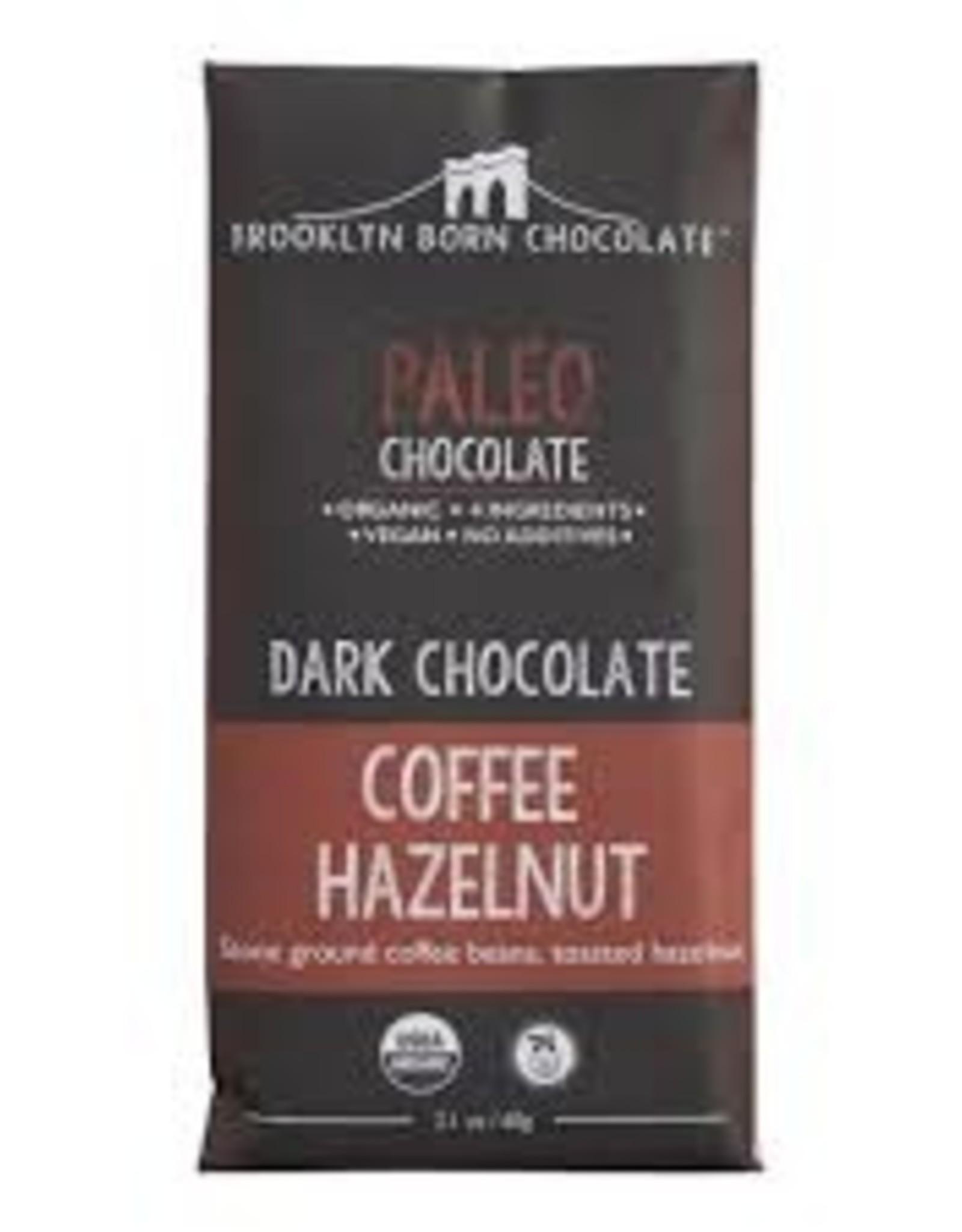 Brooklyn Born Chocolate Brooklyn Born Chocolate - Paleo Bar, Coffee Hazelnut (60g)