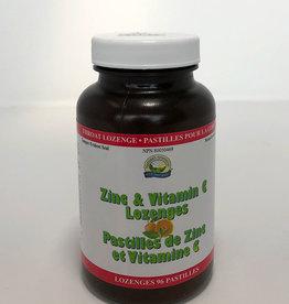 Nature's Sunshine NS - Zinc + Vitamin C Lozenges (96 caps)