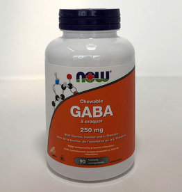 NOW Foods NOW Foods - GABA 250mg chewable (90tabs)