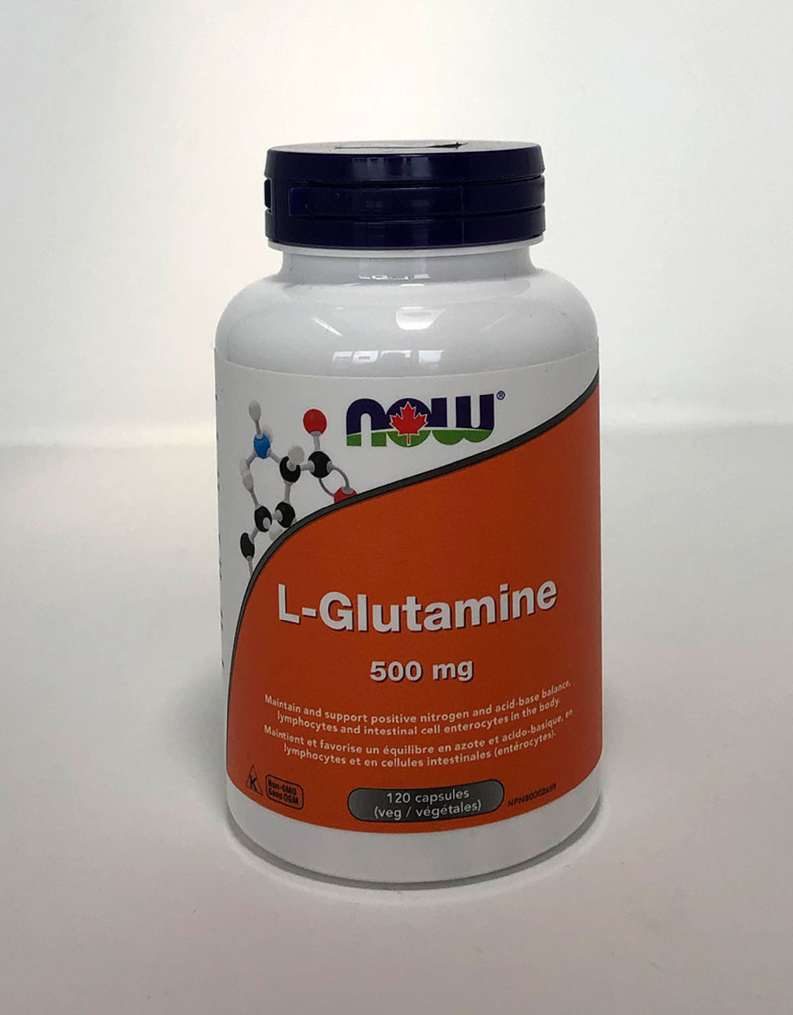 NOW Foods NOW Foods - L-Glutamine 500mg (120vcaps)
