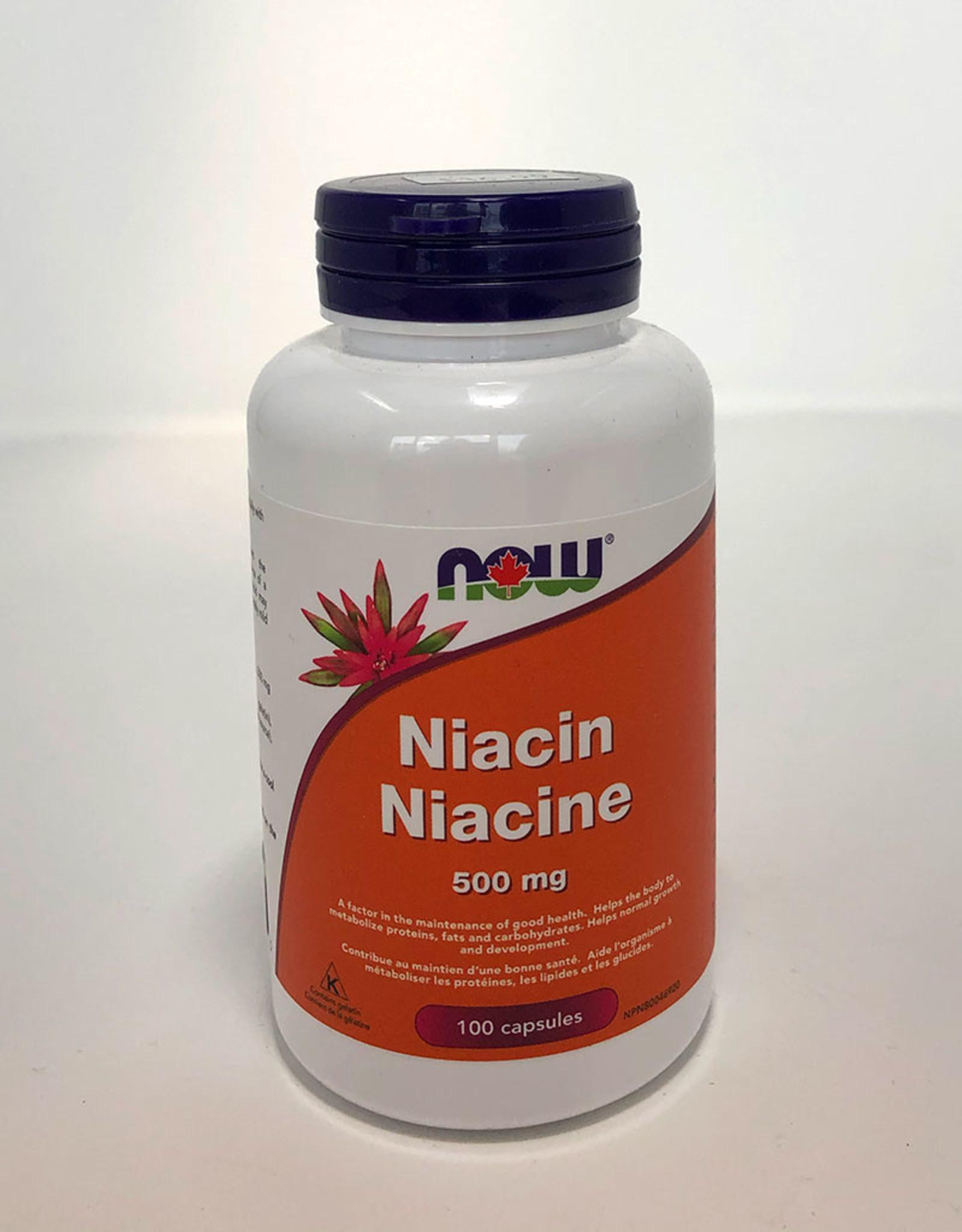 NOW Foods NOW Foods - Niacin 500mg (100caps)