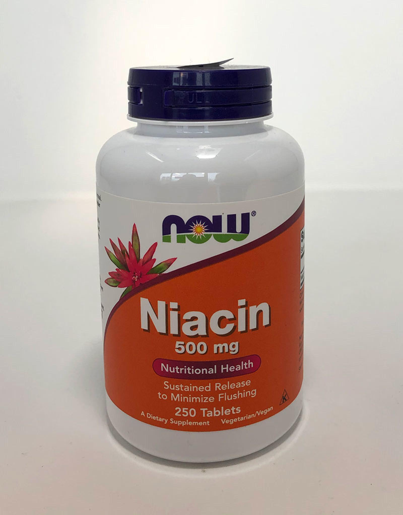 NOW Foods NOW Foods - Niacin 500mg (250tabs)