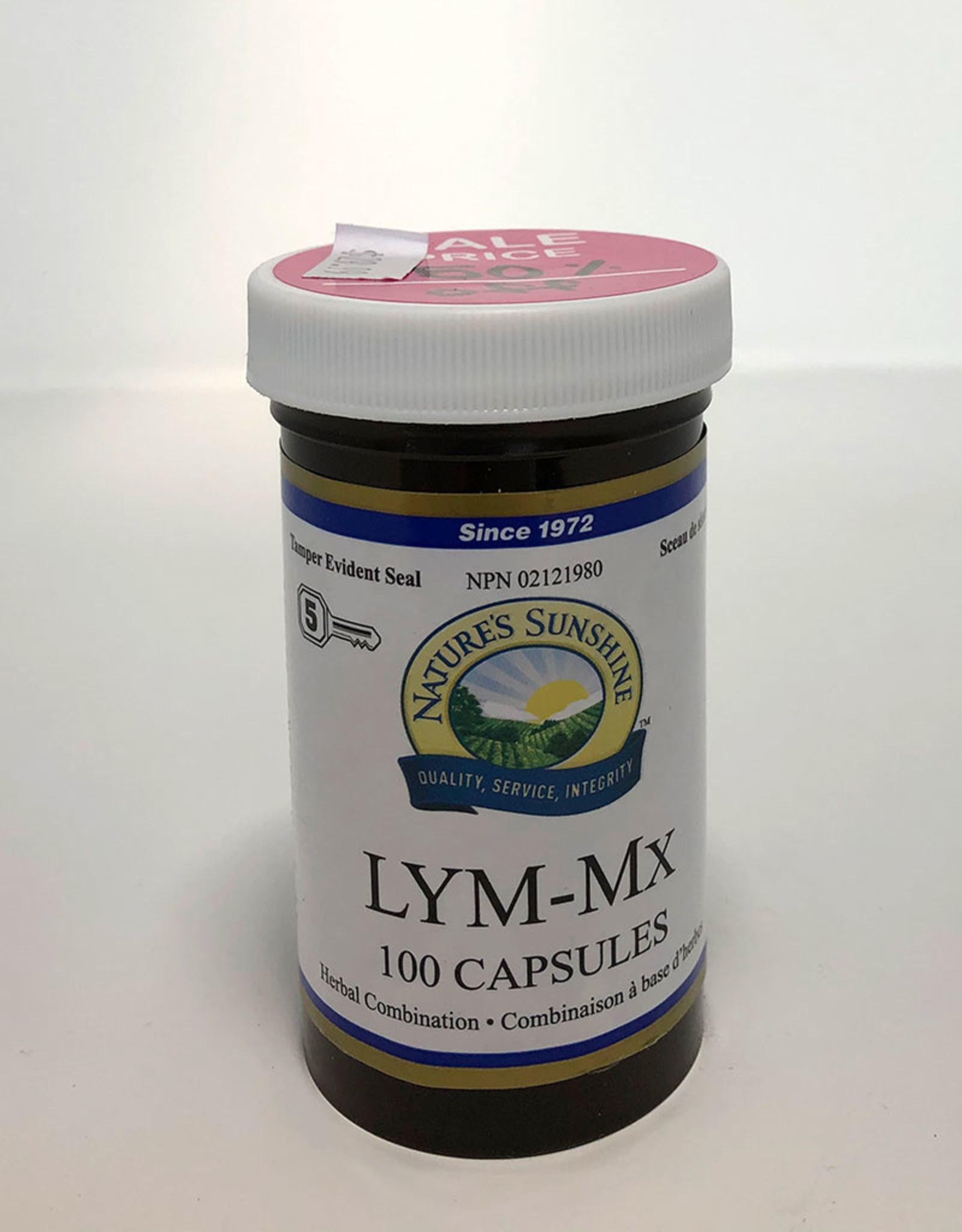 Nature's Sunshine NS - LYM-MX (100caps)