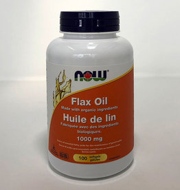 NOW Foods NOW Foods - Organic Flax Oil 1000mg 100 softgels