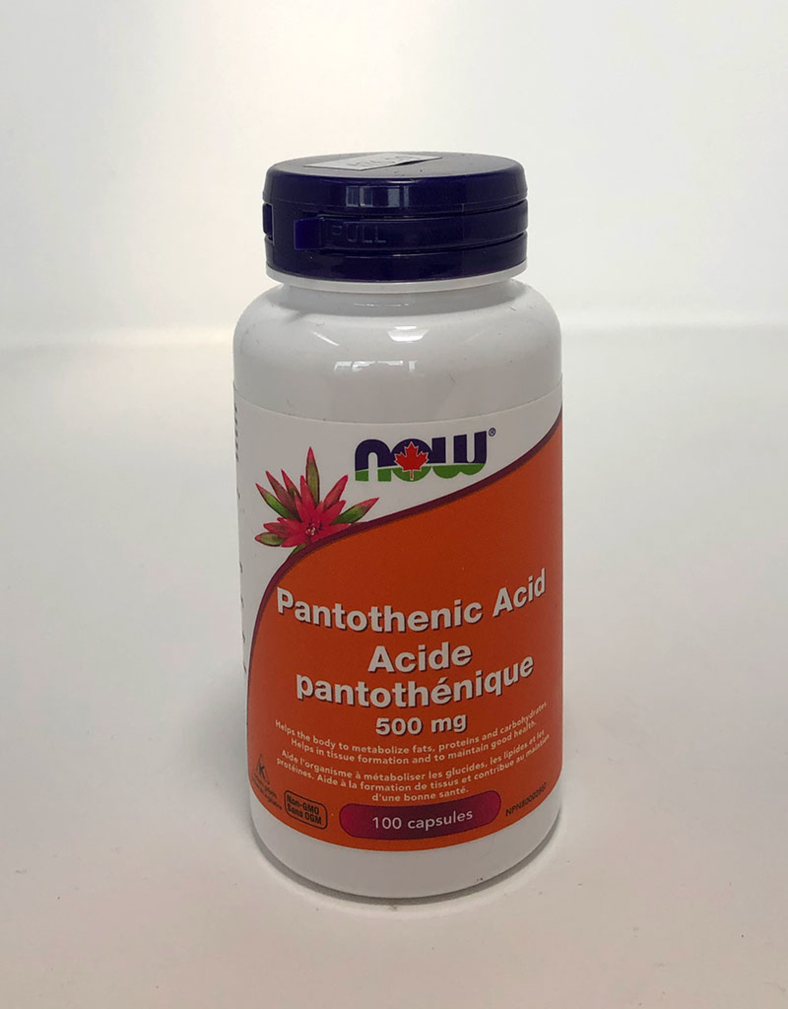 NOW Foods NOW Foods - Pantothenic Acid (100caps)