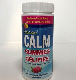 Natural Calm Canada Natural Calm - Gummies, Raspberry Lemon (120)