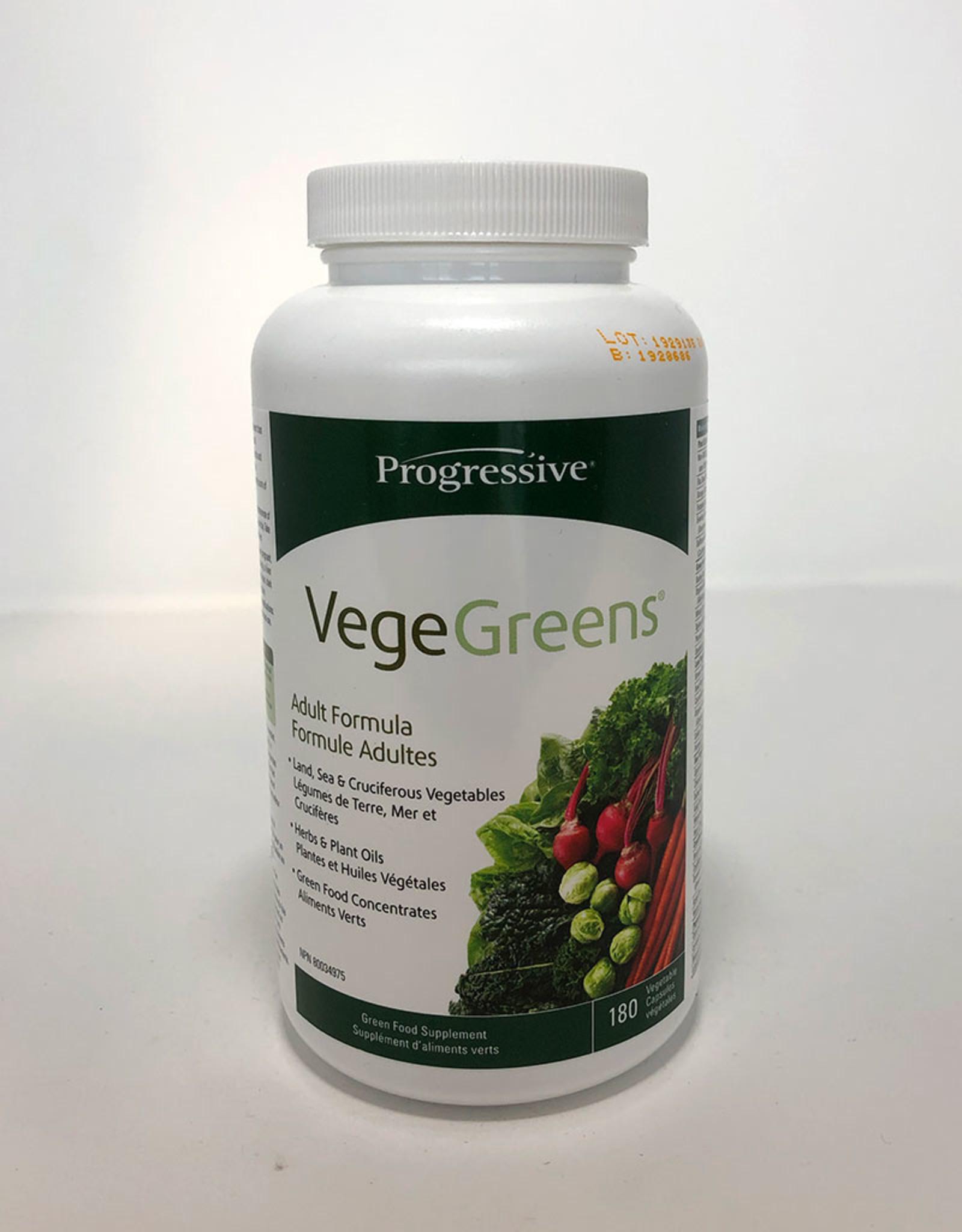 Progressive Progressive - VegeGreens (180caps)