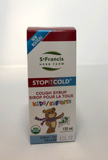 St. Francis Herb Farm St. Francis - Cough Syrup, Kids (120ml)