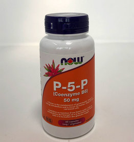NOW Foods NOW Foods - P-5-P Coenzyme-B6 50mg w/Magnesium