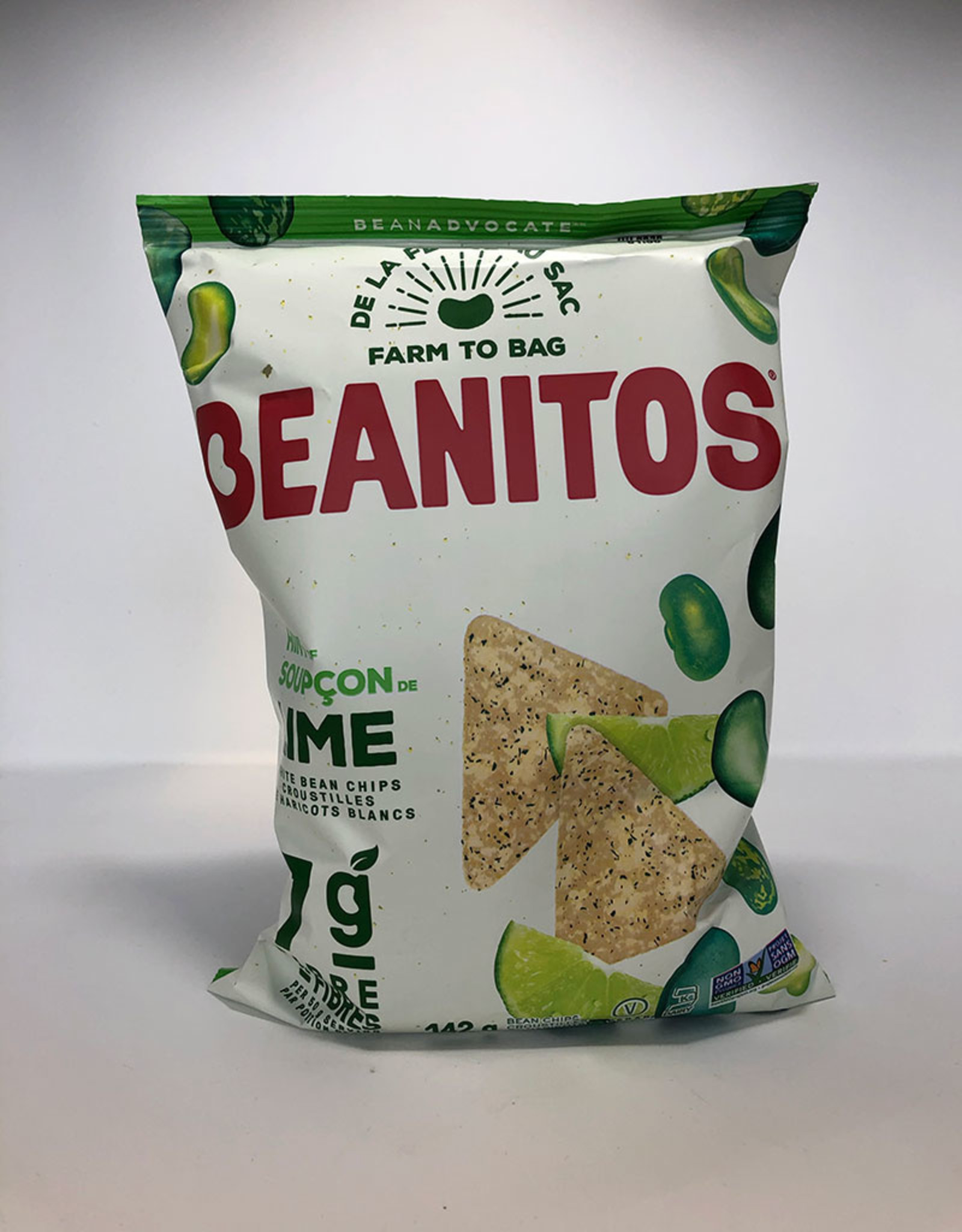 Beanitos Beanitos - White Bean Chips, Hint of Lime