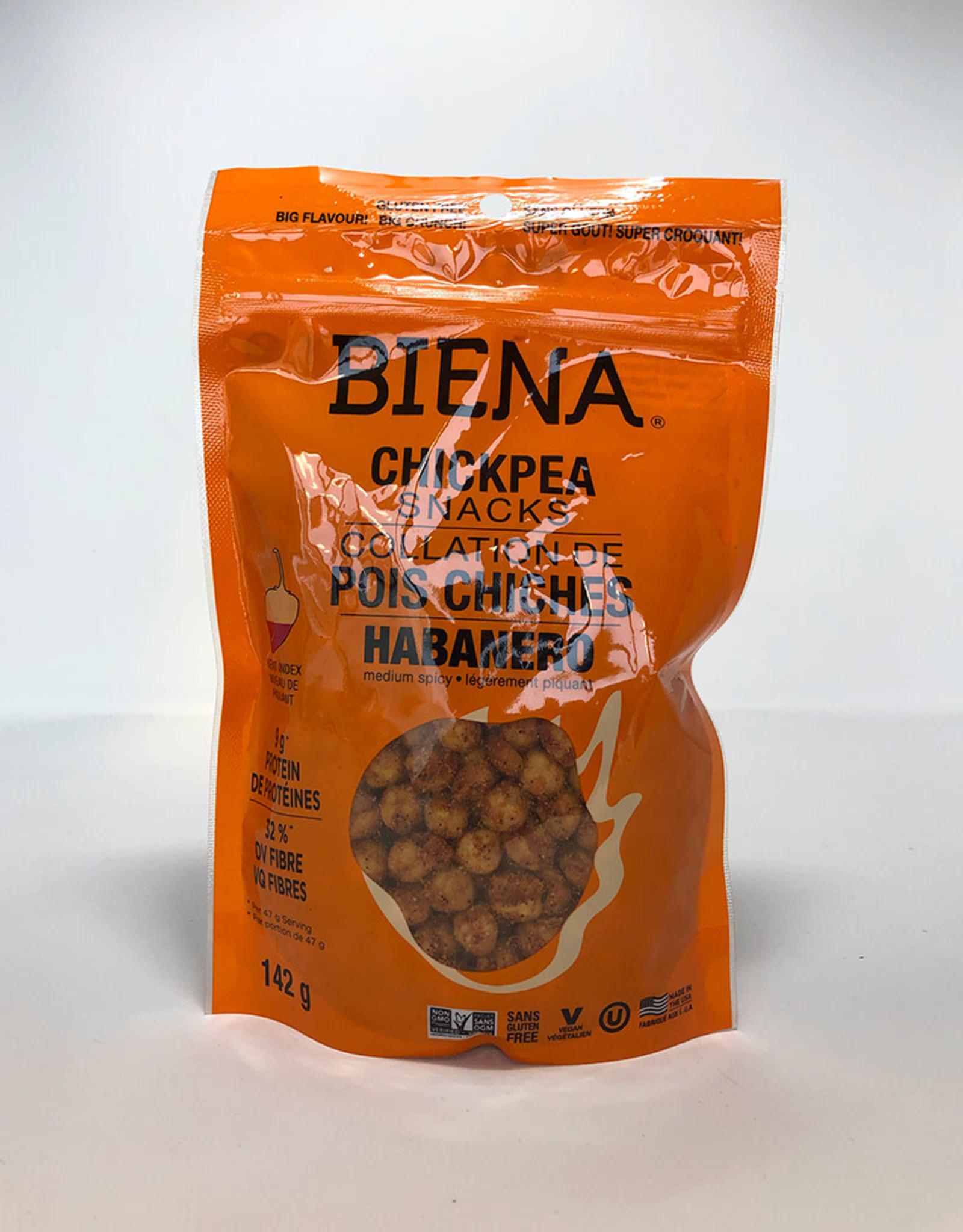 Biena Snacks Biena - Chickpea Snacks, Habanero