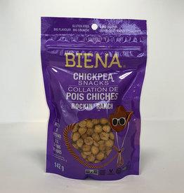 Biena Snacks Biena - Chickpea Snacks, Ranch