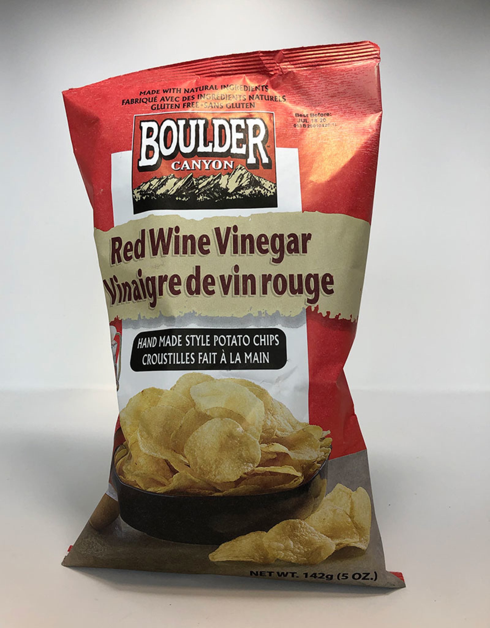 Boulder Canyon Boulder Canyon - Chips, Red Wine & Vinegar