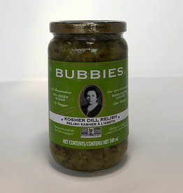 Bubbies Bubbies - Kosher Dill Relish