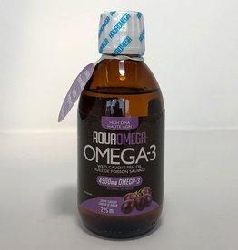 AquaOmega AquaOmega - Omega 3 - High DHA, Grape (225ml)