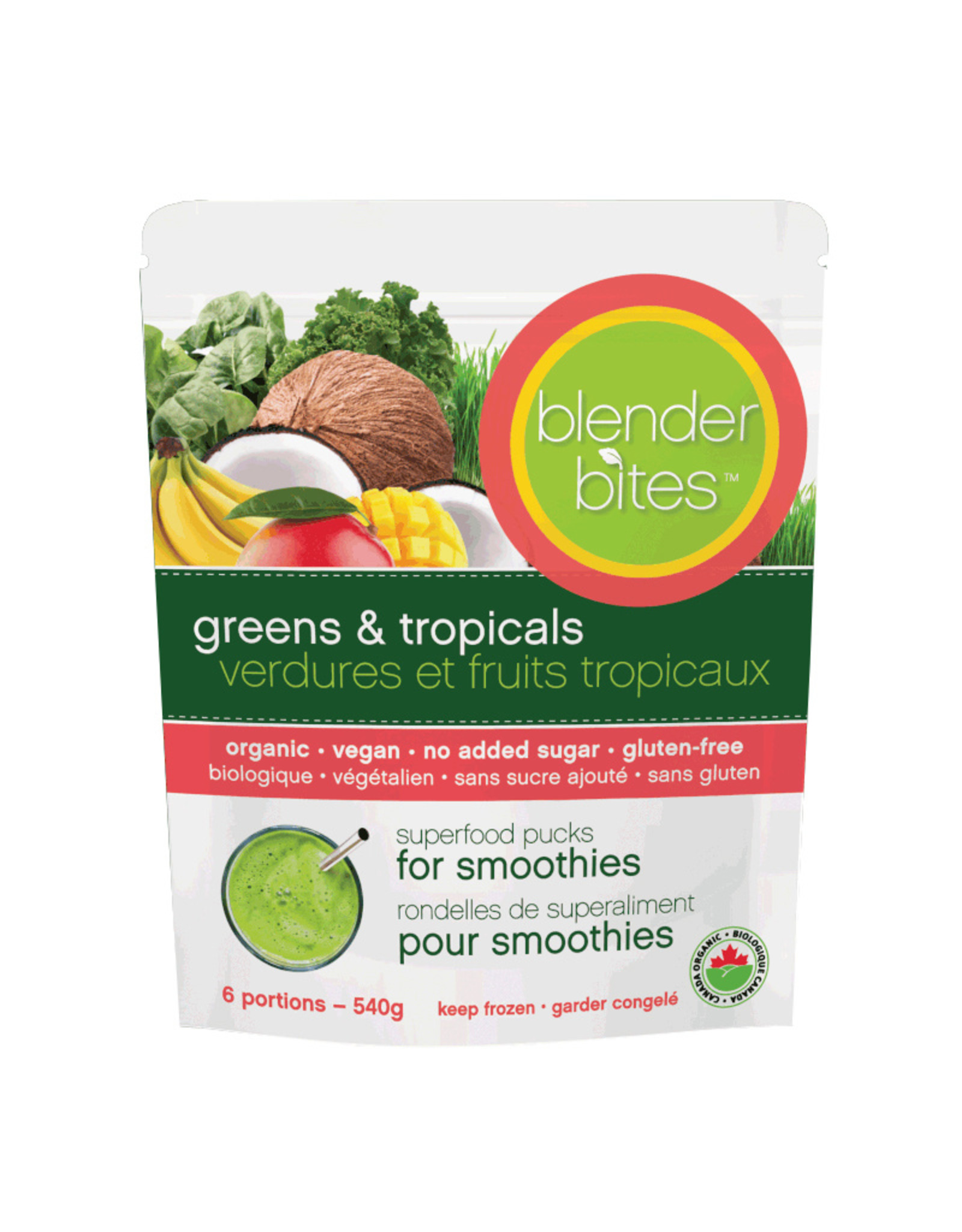 Blender Bites Blender Bites - Smoothie Pucks, Greens & Berries