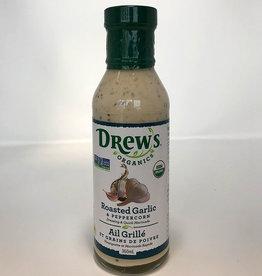 Drew's Organics Drews - Oranic Dressing, Roasted Garlic & Peppercorn (360ml)