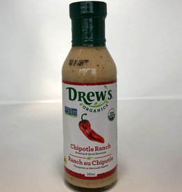 Drew's Organics Drews - Oranic Dressing, Chipotle Ranch (360ml)