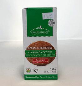 Earth's Choice Earths Choice - Organic Creamed Coconut, Packets (150g)