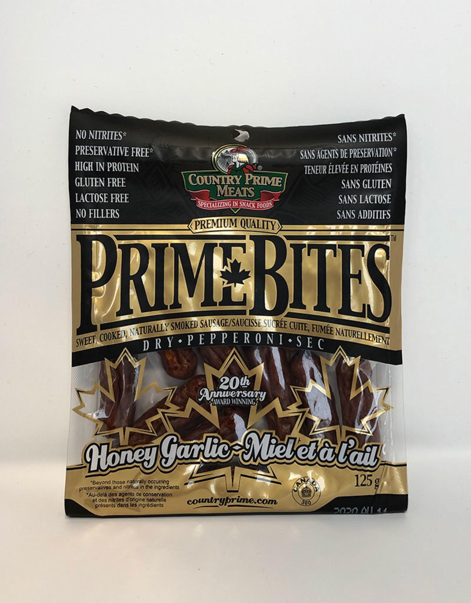 Country Prime Meats Country Prime Meats - Prime Bites, Honey Garlic (125g)