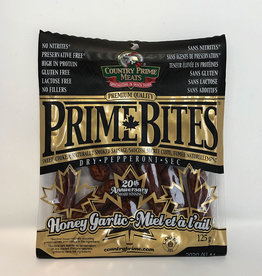 Country Prime Meats Prime Bites, Pepperoni - Honey Garlic (125g)
