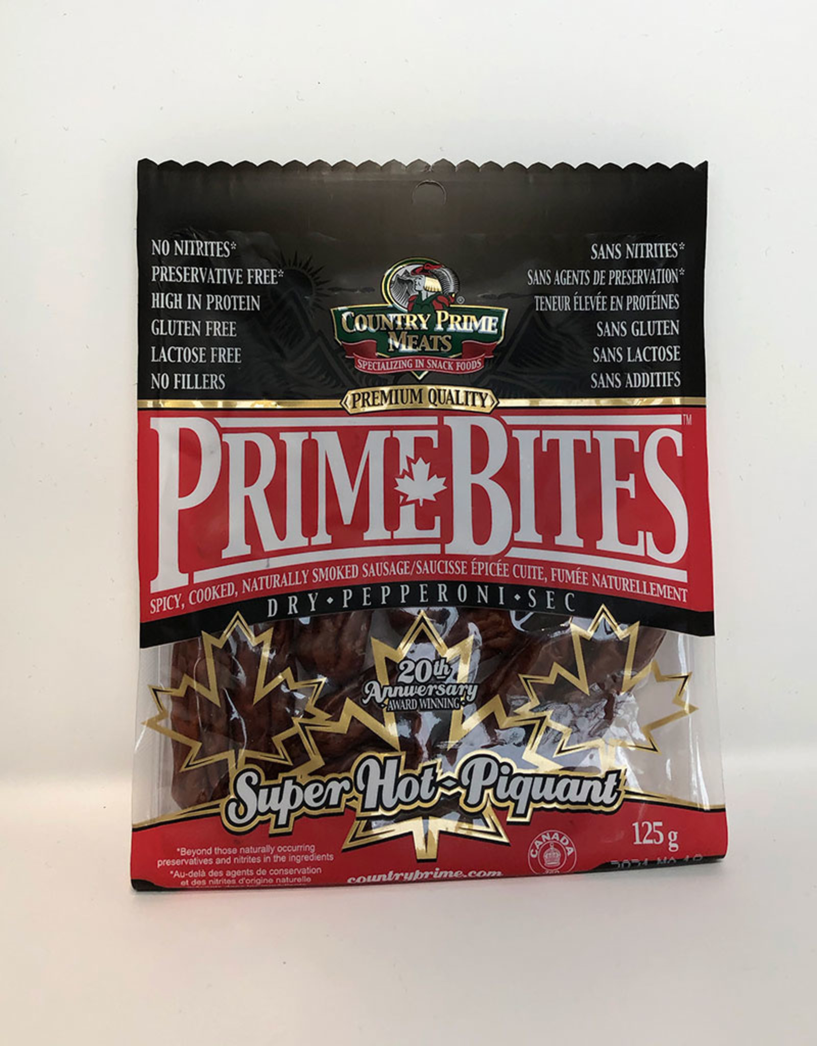 Country Prime Meats Country Prime Meats - Prime Bites, Super Hot (125g)