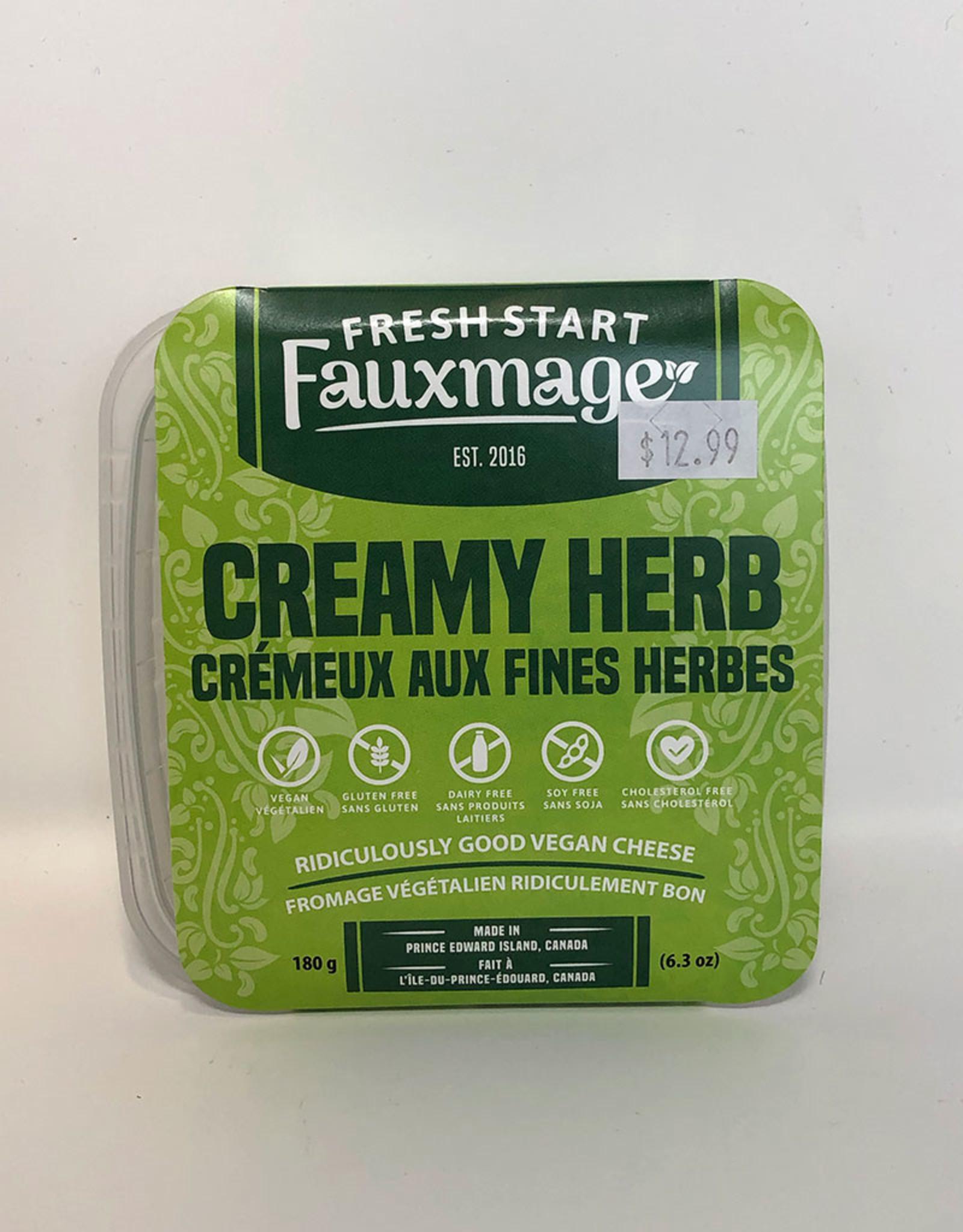 Fresh Start Fauxmage Fresh Start Fauxmage - Creamy Herb (180g)