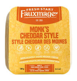 Fresh Start Fauxmage Fresh Start Fauxmage - Monks Cheddar (180g)