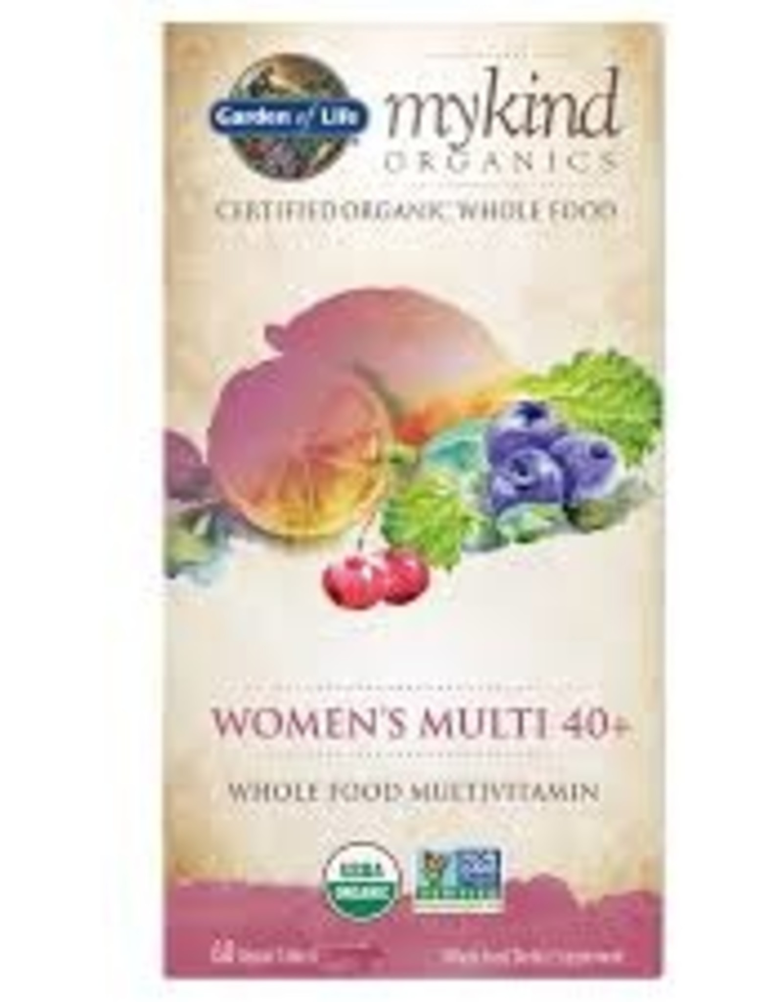Garden of Life Garden of Life - Mykind Organics, Womens Multi 40+