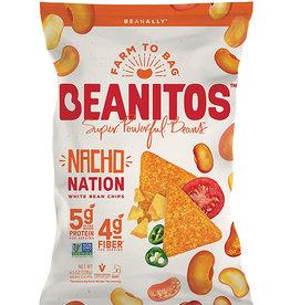 Beanitos Beanitos - White Bean Chips, Nacho Cheese (128g)