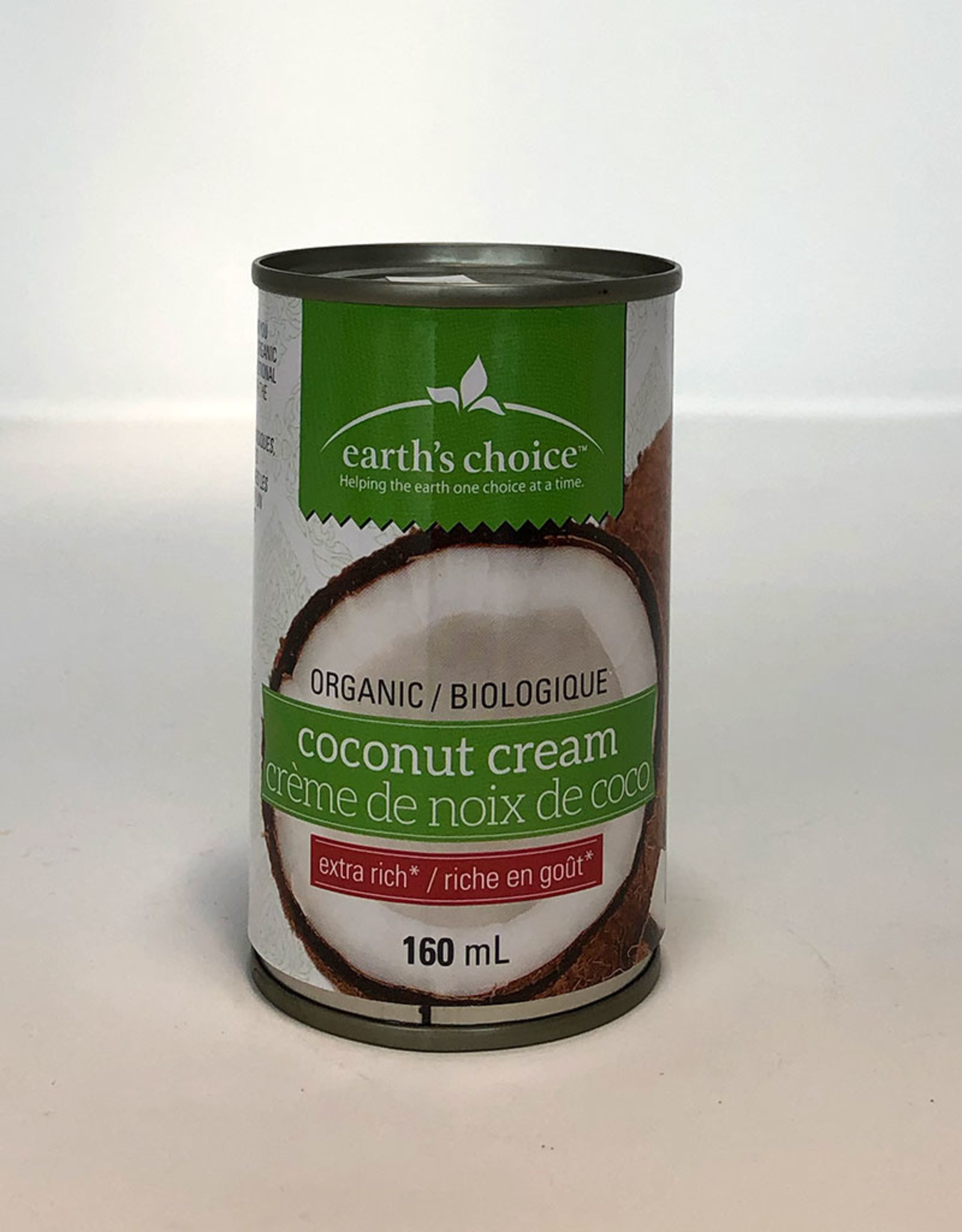 Earth's Choice Earths Choice - Organic Coconut Cream (160ml)