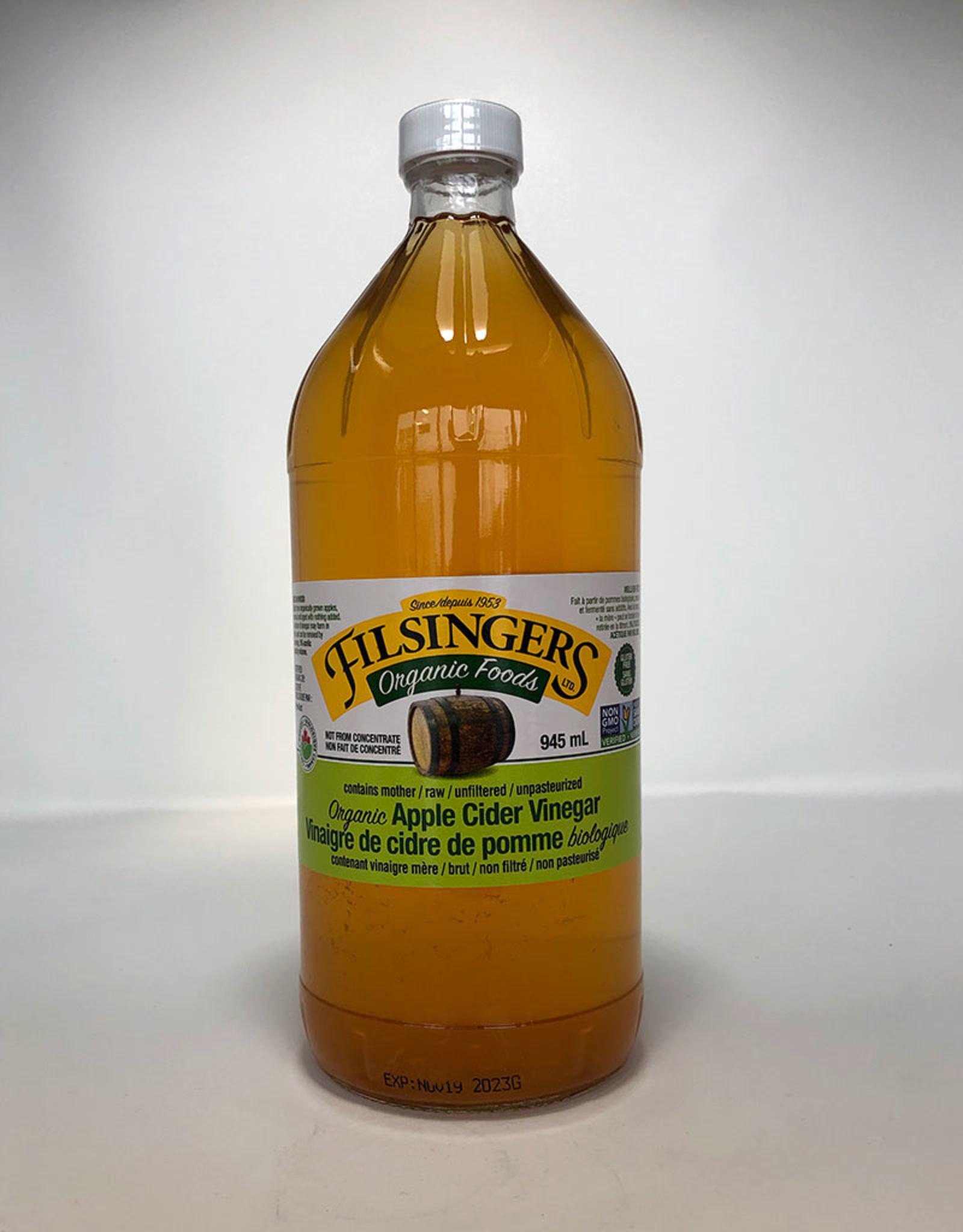 Filsingers Organic Foods Filsingers - Organic Apple Cider Vinegar (945ml)