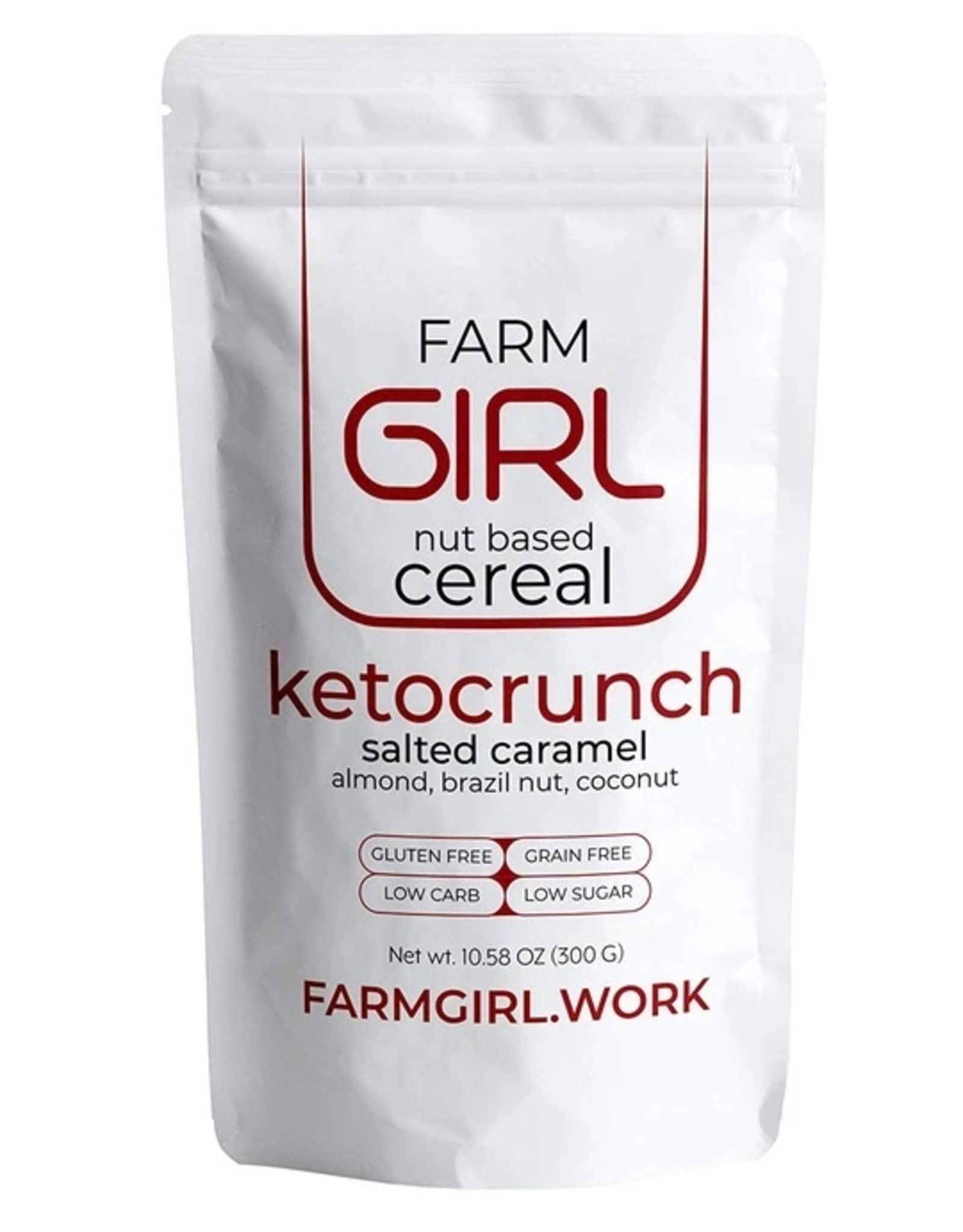 Farm Girl Farm Girl - Nut Based Cereal, Ketocrunch (300g)