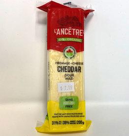 L'Ancetre LAncetre - Organic Raw Unpasturized Cheese, Mild Cheddar (200g)