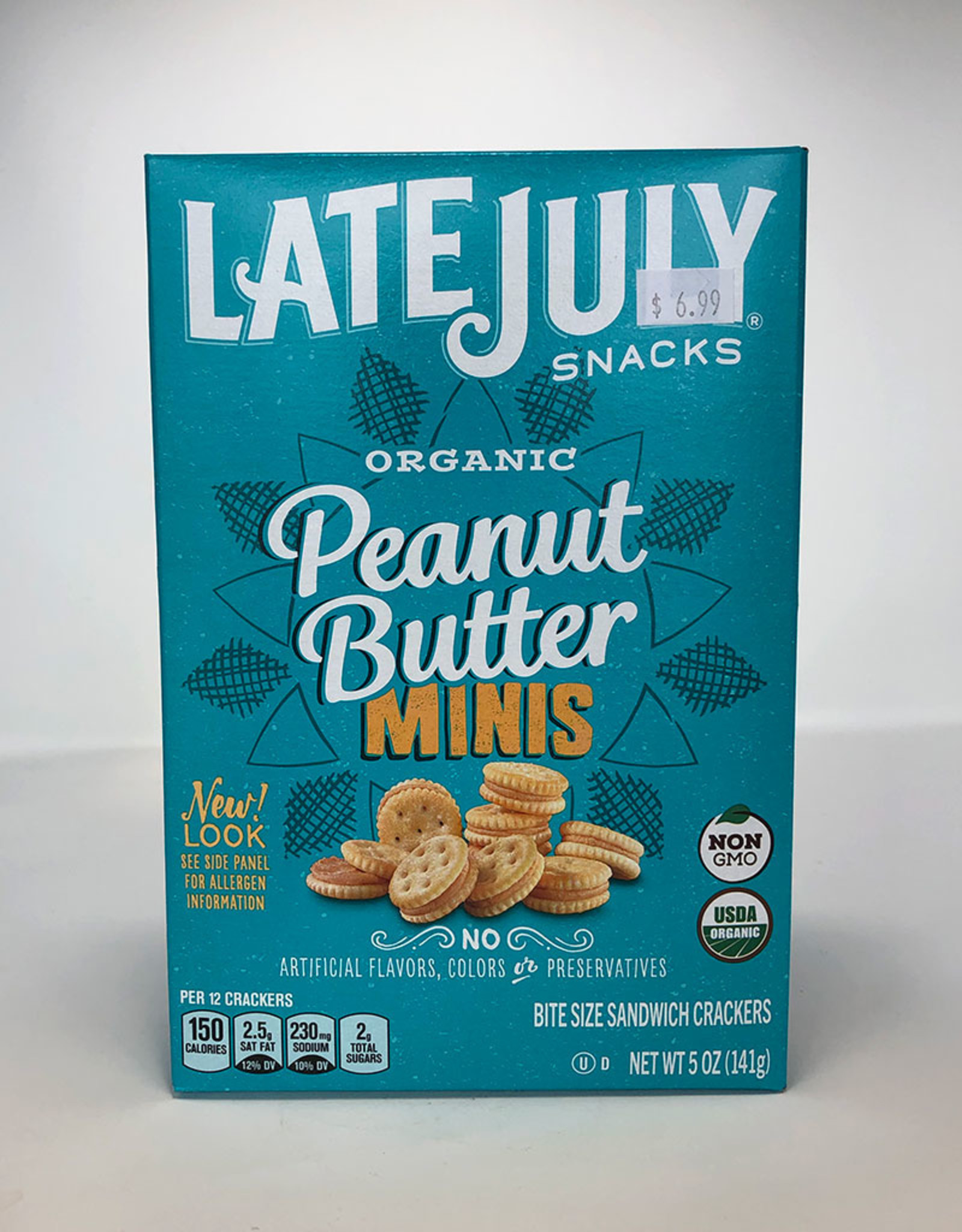 Late July Late July - Crackers, Mini Peanut Butter