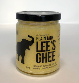 Lee's Ghee Lees Ghee - Plain Jane (210g)
